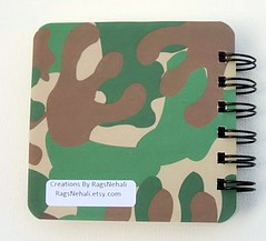 Jungle Post It Holder