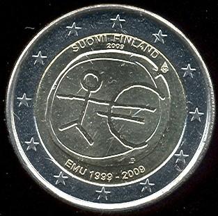 2 Euro Fínsko 2009 HMÚ
