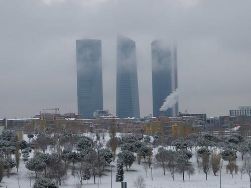 Madrid con nieve
