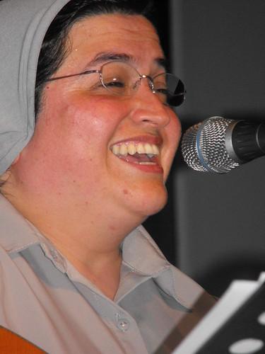 Glenda sonríe. José Rafael Sosa