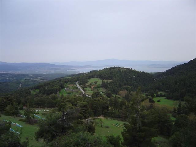 Στερεά Ελλάδα - Εύβοια - Δήμος Μεσσαπίων Ανεβαίνοντας το βουνό Κανδύλι