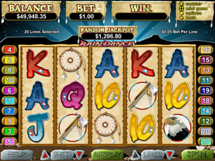 Rain Dance slot game online review