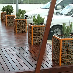 DSCF9614 (Badec Bros Deco) Tags: plants art water design wooden planters landscaping steel creative arches powder made pots features custom benches decor deco bros sculptures coated screens stainless gabion edrich badec cubedec