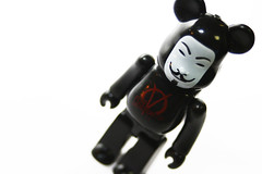 BEARBRICK (diloz) Tags: matrix canon toy toys eos kiss kubrick x superman next batman joker pepsi gundam 15mm inc bearbrick medicom nex speedlite bearbrik 380ex