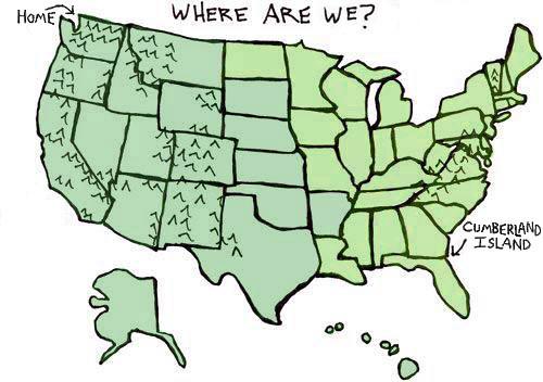 Cumberland Map
