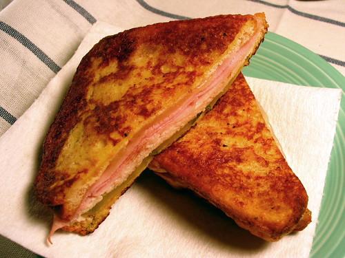 Monte Cubano sandwich