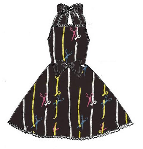 scissors dress