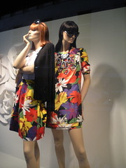 Neiman Marcus Store Window on Ervay Street