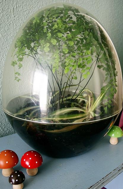 Thrifty Crafting Terrarium Inspiration Little Big