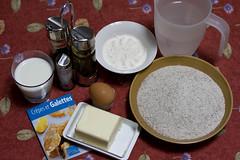 Galettes: gli ingredienti