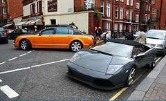 RRR Bentley Vs Lamborghini (7 ) Tags: london rrr lamborghini bentley murcilago