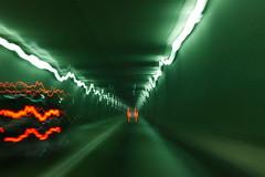 Tunnel Light Trails (jomak14) Tags: longexposure canon washingtondc maryland motionblur lighttrails ef50mmf18ii eos1ds canonef50mmf18ii i895 cmwdgreen dazzlingshots harbortunnelthrwy