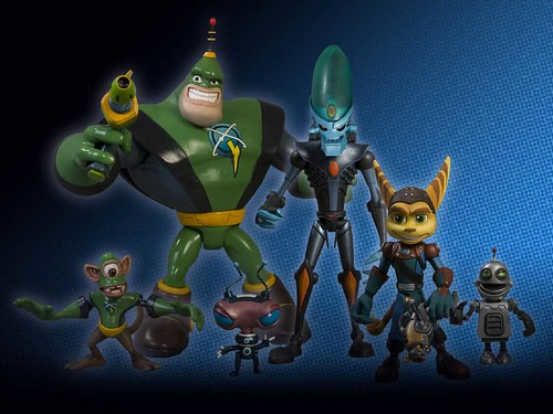 Ratchet & Clank figures - available this fall!