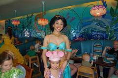 Amanda with Jasmine