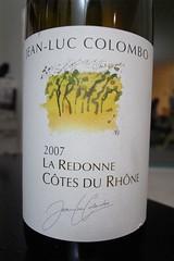 2007 Jean-Luc Colombo, La Redonne, Côtes du Rhône Blanc