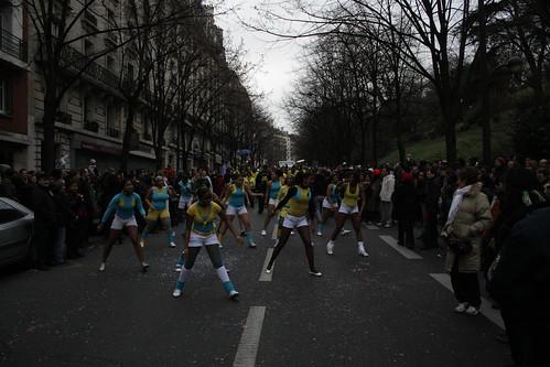 La danse est une composante fondamentale du Carnaval brésilien