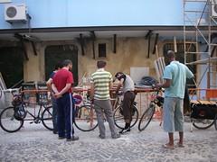 Conversa de bicicletas