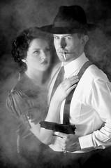 Film Noir 1 (beeater) Tags: bw hats smoking crime pistol filmnoir classicphotography australianmodels detectiveandfemmefatale heroheroine canberramodels modelmayhemmodels filmnoirmood menandhats classiccanberra filmnoirgun filmnoiraustralia filmnoirfan jessicakian