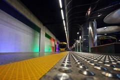 Britomart (timmelm) Tags: train vanishingpoint g auckland britomart colourful picnik sigma1020 pfogold