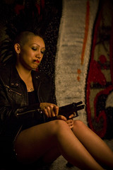 042fELIX032809JTENNERY (napaeye) Tags: california women felix smoking graffitti guns