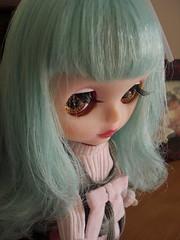 Usagi has got new clothes (Cyrielle 1) Tags: bunny blythe custom takara msr usagi sugarmag cyrielle misssallyrice