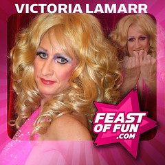 Victoria Lamarr on the Feast of Fun podcast