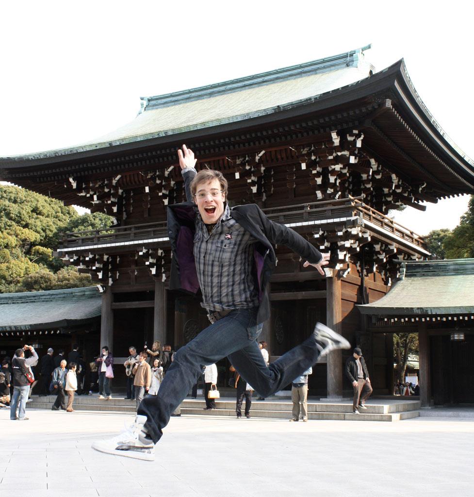 Me in Tokyo,... HI!