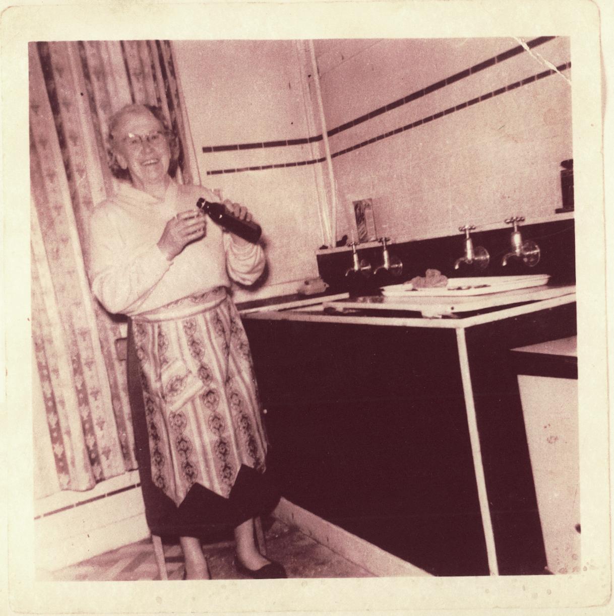 Mrs Savage 1956.