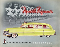 1950 Superior-Cadillac Ambulance Brochure (aldenjewell) Tags: superior cadillac ambulance brochure 1950