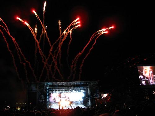 KISS fireworks