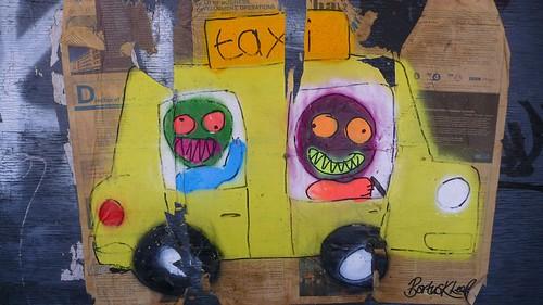 Taxi by Bortusk Leer