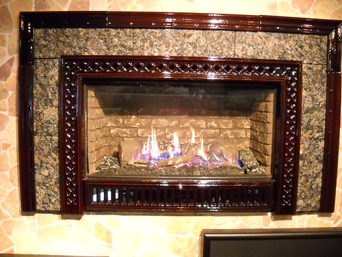 Gas Fireplace Inserts Display - Flickriver: FireplaceVillage's Most Interesting Photos