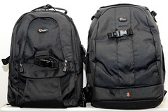 Lowepro mini trekker AW and Lowepro flipside 400 AW (Kent Yu Photography) Tags: camera bag nikon gear mini collection backpack aw lowepro trekker d700 flipside400