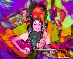 Becoming One with the Woman Song (GangaSunshine) Tags: photomanipulation freedom singing song digitalart goddess purpose songwriter invincibility wholeness creativeexpression selfforgiveness womansong
