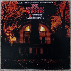 Lalo Schifrin / The Amityville Horror (bradleyloos) Tags: music vintage vinyl retro albums lp 1979 junkie soundtrack vintagevinyl recordcollection theamityvillehorror illionny lpcoverart bra