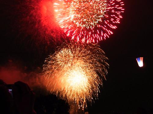 Fireworks in Itabashi, 2009 - 3
