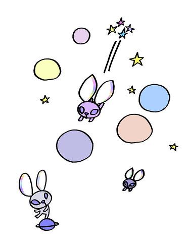 星うさぎの宇宙飛行