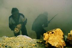 Kawah Ijen Sulfur Miners