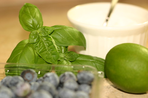 Blueberry Basil Mojito
