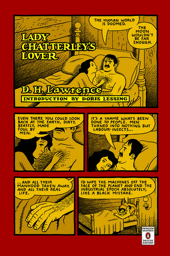 lady chatterley's lover by paul buckley design.