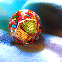 cupcake sprinkles ring handmade by me... (isewcute) Tags: diy rainbow colorful oneofakind dome handcrafted imadethis craftster handmadejewelry uniquejewelry cupcakering resinjewelry resinring isewcute sprinklesjewelry sprinklesring
