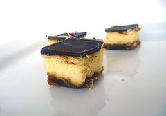 Dulce de Leche Cheesecake Bars (Brown Eyed Baker) Tags: dessert sweet chocolate cheesecake recipes dulcedeleche barcookies