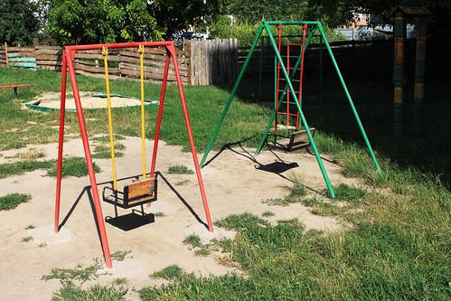 Rigid Metal Swings