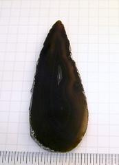 BL5three (abeadplacenet) Tags: black agate geode slices abeadplacenet