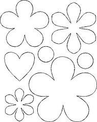 molde de flores para feltro (FAVOS DE MEL ATELI - Decoupage) Tags: net de para da feltro letras moldes retirado