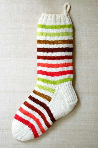 Mary Lou's Holiday Stocking by the purl bee