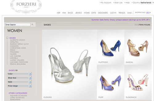 Tienda online de moda Forzieri.com