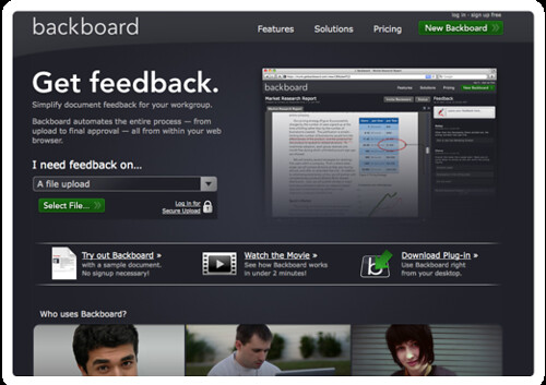Get feedback with Backboard