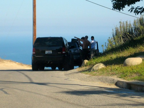 paparazzi in Malibu