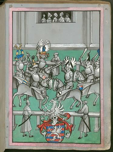 Ludwig von Eyb - Turnierbuch c
